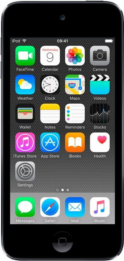 """Apple iPod touch 4"""" 32 GB in Space Grau"""