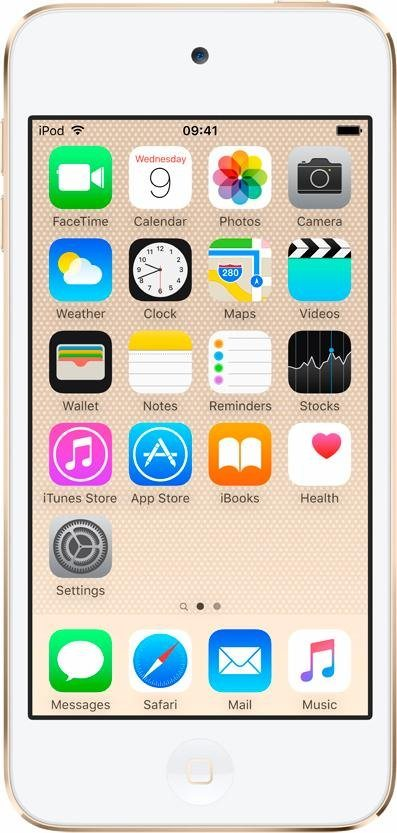 """Apple iPod touch 4"""" 32 GB in Gold"""