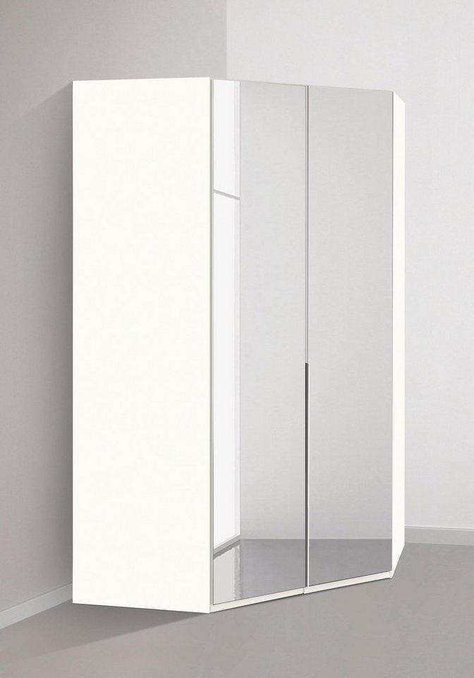 Eckkleiderschrank weiß mit spiegel  Wimex Eckkleiderschrank »New York« online kaufen   OTTO