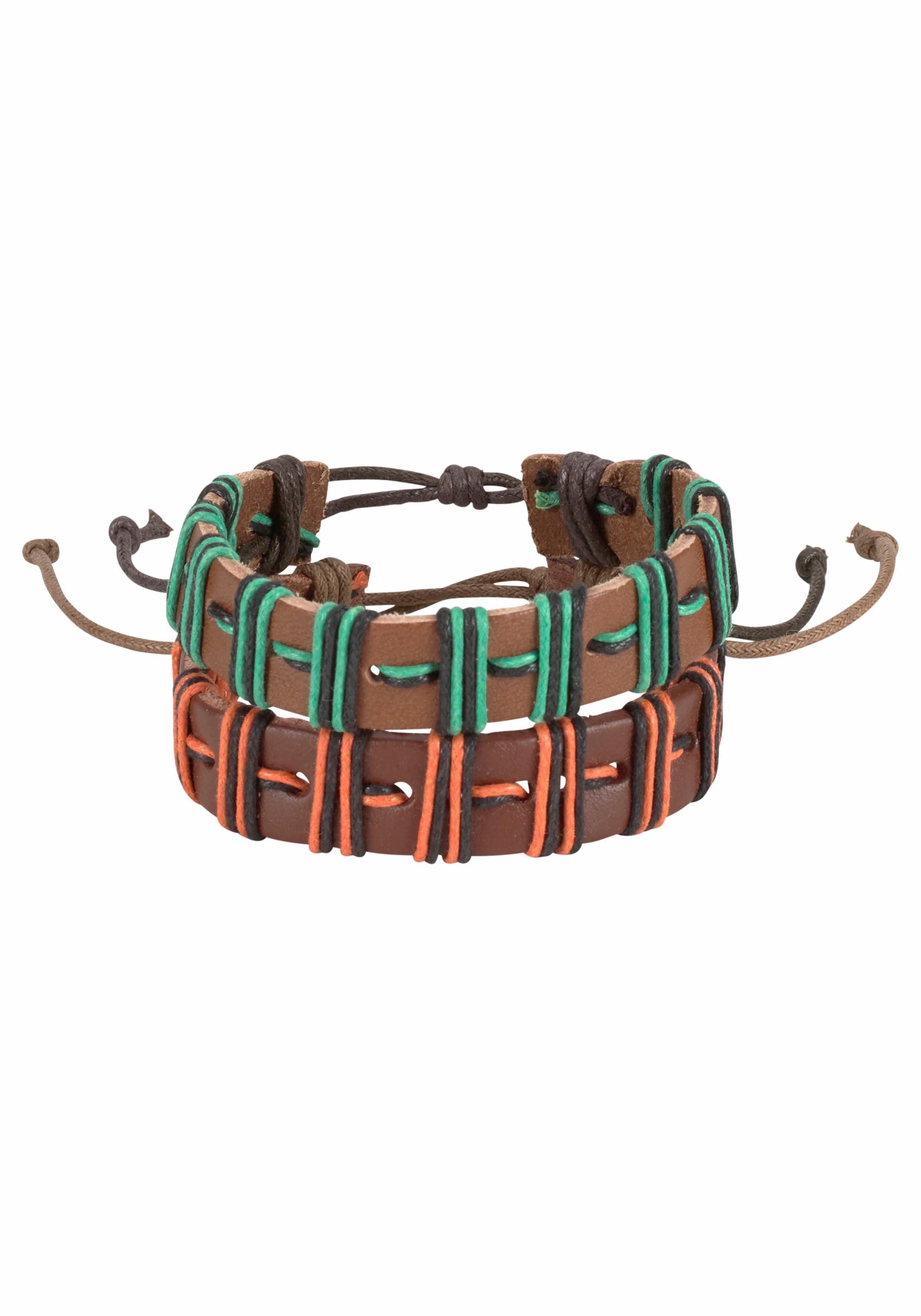 J. Jayz Armband Set mit Verschiebeknoten