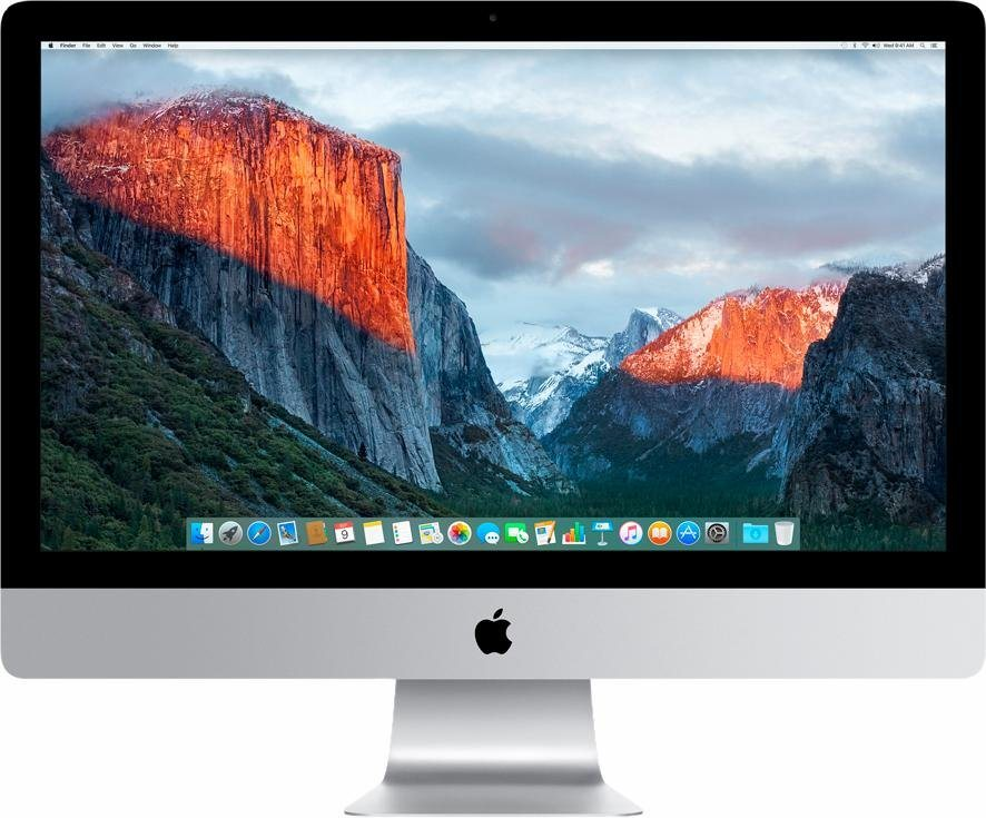 "Apple iMac 27"" 2000 GB Fusion Drive in Silber"