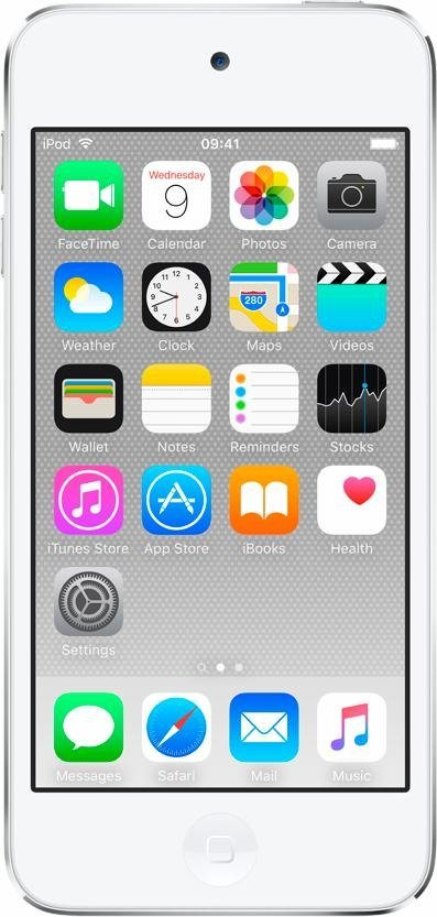 """Apple iPod touch 4"""" 64 GB in Silber"""