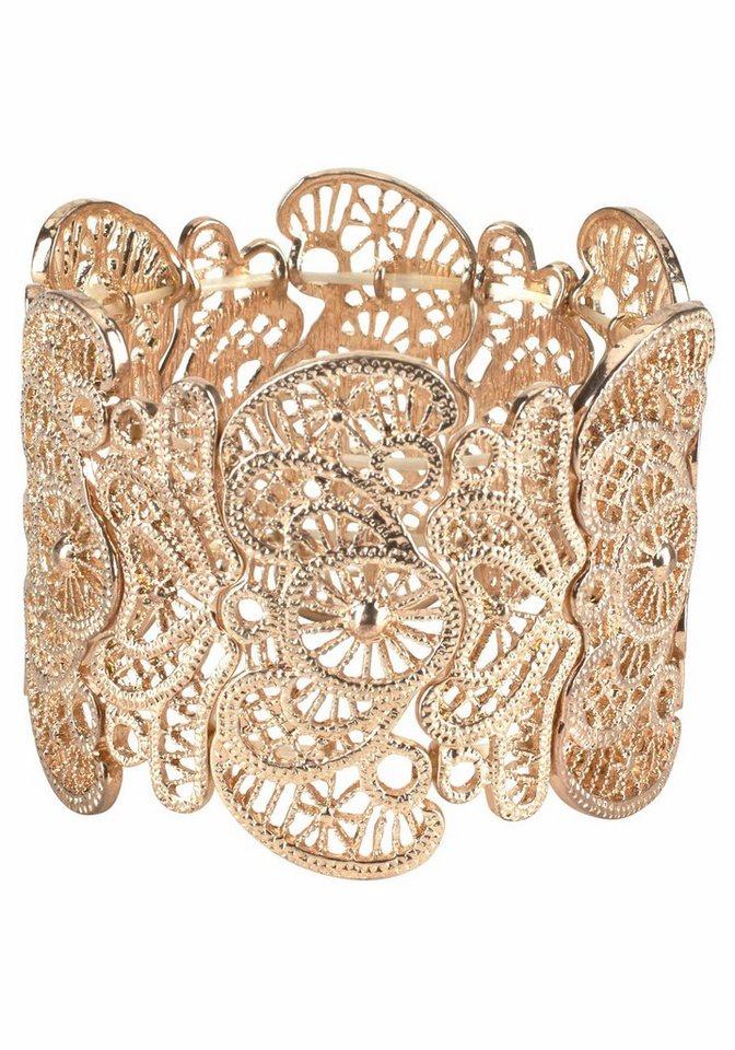 J. Jayz Armband im eleganten Design in goldfarben