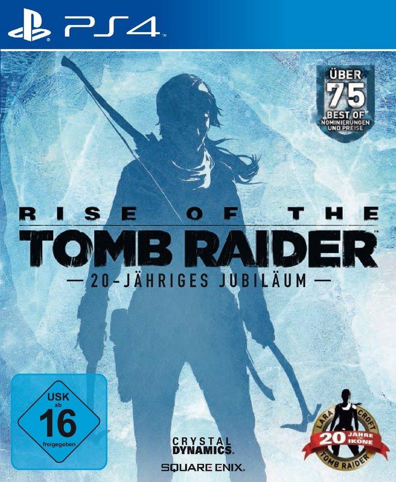 SquareEnix Rise of the Tomb Raider 20 Year Celebration D1 Edition »(PS4)«