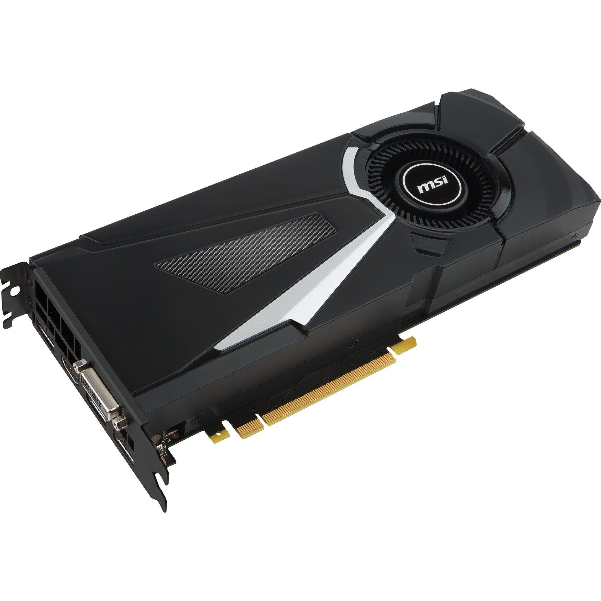 MSI Grafikkarte »GeForce GTX 1080 AERO 8G OC«