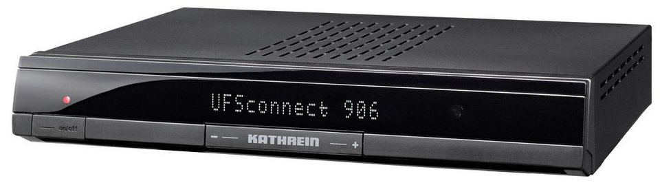 Kathrein Smart-TV-Receiver HDTV »UFSconnect 906sw« in schwarz