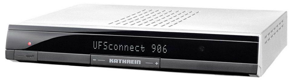 Kathrein Smart-TV-Receiver HDTV »UFSconnect 906si« in silber
