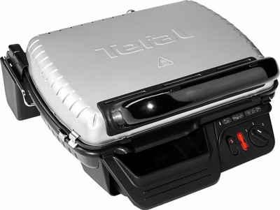 Tefal Kontaktgrill GC3050, 2000 W, Aufklappbar als Tischgrill/BBQ, Regelbarer Thermostat, Antihaftbeschichtet