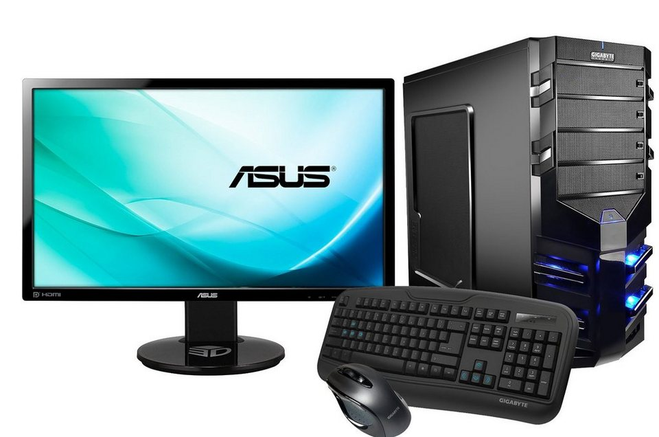 Hyrican Gaming PC Intel® i7-6700K, GeForce® GTX 1080 + Monitor »Alpha Gaming SET01085«