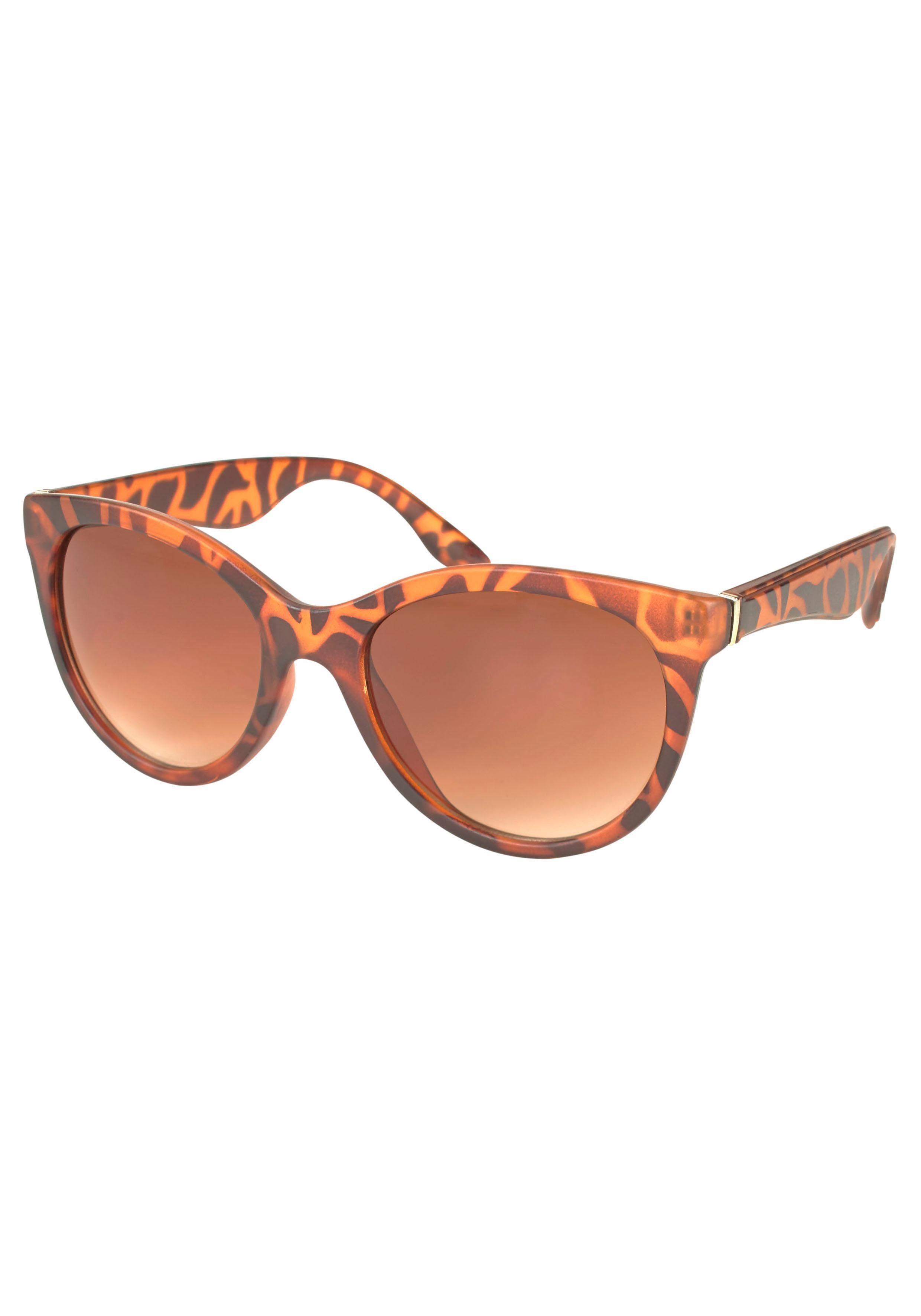 PRIMETTA Eyewear Sonnenbrille mit Leo-Muster