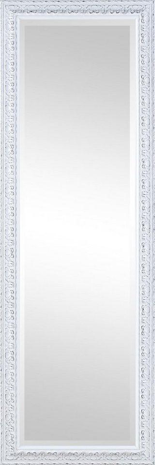 Home affaire Gerahmter Spiegel »Elena I«, 50/150 cm in weiß