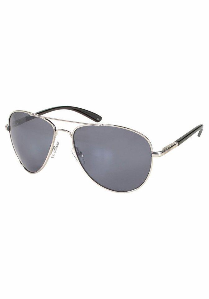 PRIMETTA Eyewear Sonnenbrille im modischen Design in silberfarben-grau