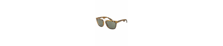 Gin Tonic Sonnenbrille mit kontrastfarbenen Nasensteg