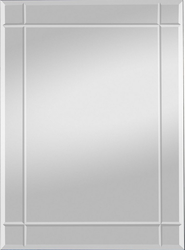 Home affaire Facettenspiegel »Jan«, 70/90 cm in silber