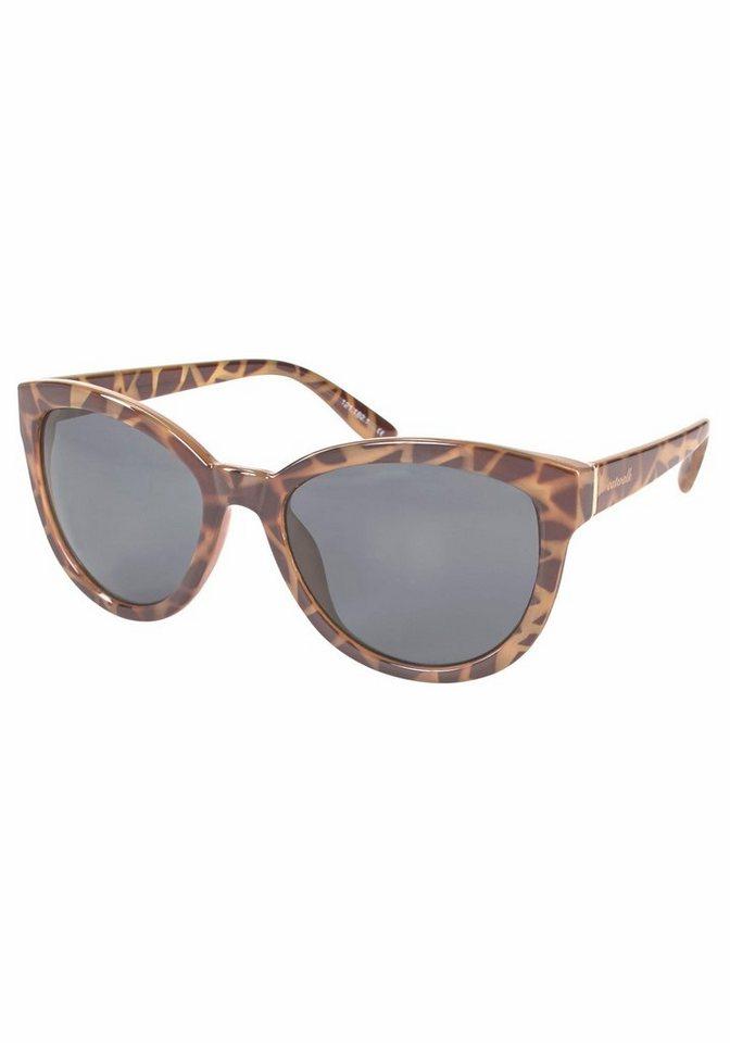 catwalk Eyewear Sonnenbrille im modischen Design in braun