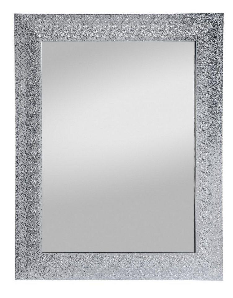 Home affaire Gerahmter Spiegel »Rosi«, 55/70 cm in silber