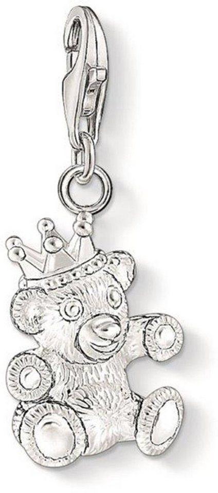 Thomas Sabo Charm-Einhänger »Teddybär, 1322-001-12« in Silber 925