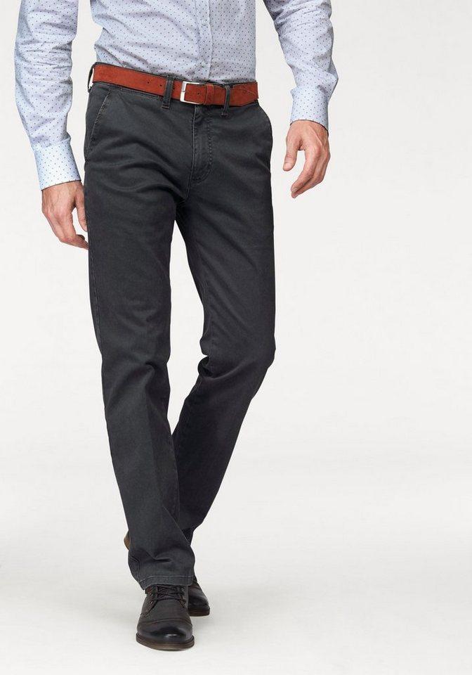 Pionier Jeans & Casuals Stoffhose »Robert« inkl. Gürtel (Set, 2 tlg., mit Gürtel) in dunkelgrau