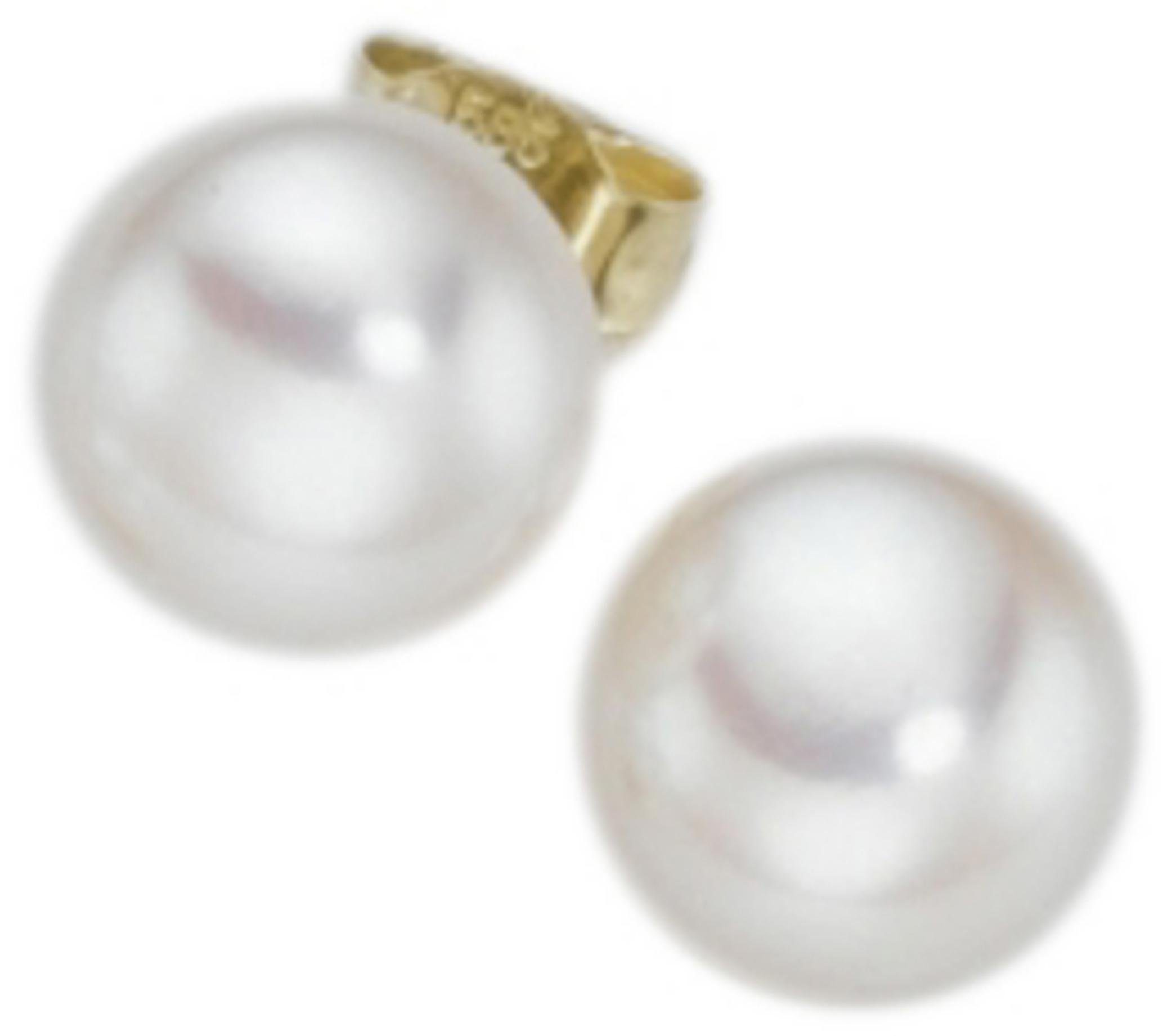Adriana Paar Ohrstecker »La mia perla, O100SWB-14M/Ba«