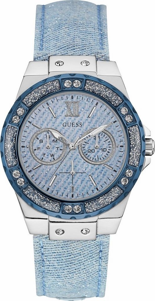 Guess Quarzuhr »W0775L1« in jeans