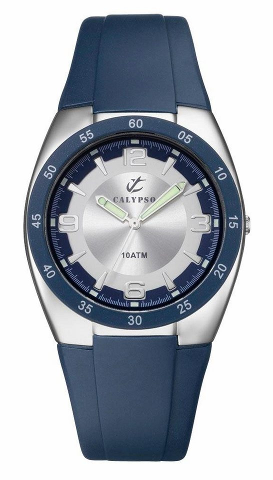 "CALYPSO WATCHES, Armbanduhr, ""K6044/5"" in blau"