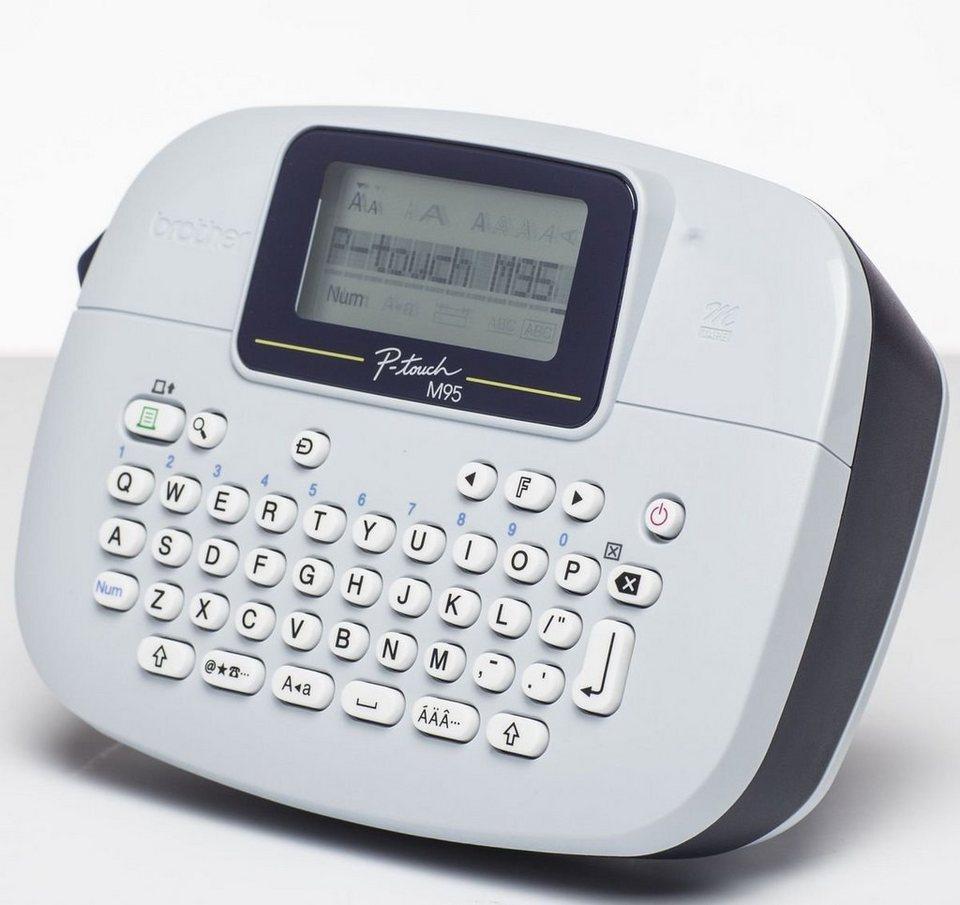Brother Beschriftungsgerät »P-touch M95 Desktop Beschriftungsgerät« in Weiß