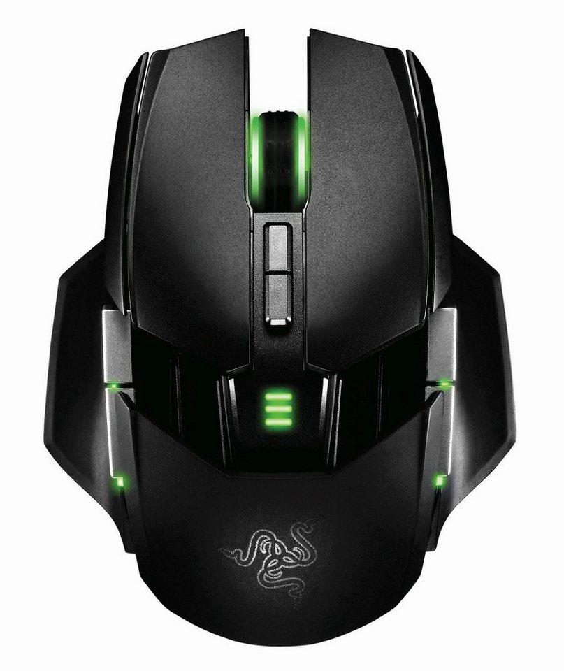 RAZER Gaming Maus »Ouroboros« in schwarz