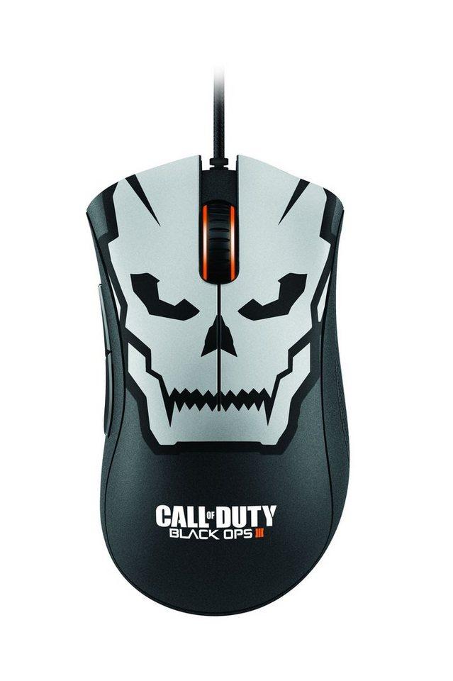 RAZER Gaming-Maus »DeathAdder Chroma - COD: BlackOps III Edition« in schwarz