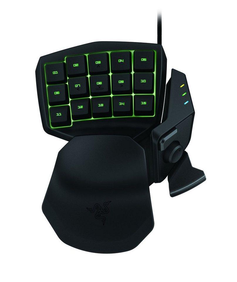 RAZER Gaming-Tastatur »Tartarus Chroma« in schwarz