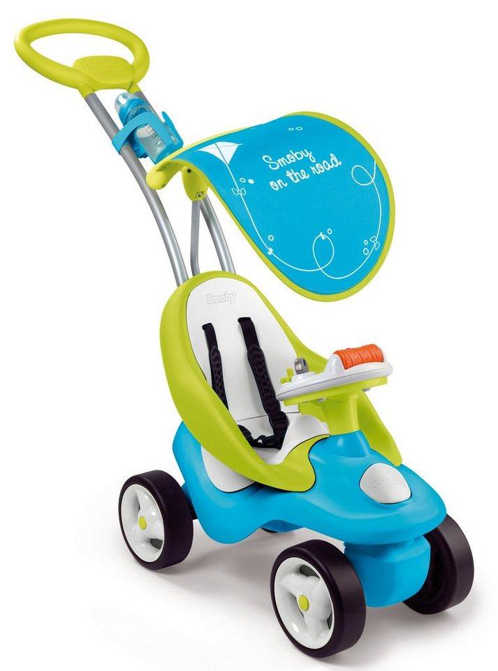 Smoby Rutscherfahrzeug mit Schubstange, »Bubble Go blau«