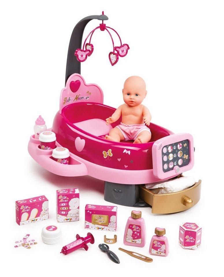 Smoby Elektronsiche Puppenpflege-Station mit Puppe, »Baby Nurse«