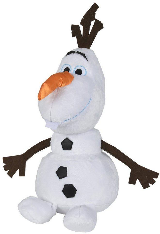 Simba Plüschtier Schneemann, »Disney Frozen, Olaf Refresh ca. 50 cm« in weiß