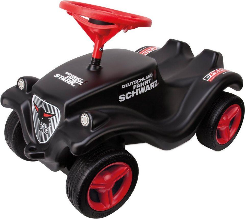 BIG Rutscherauto, »Fulda Bobby Car« in schwarz-rot