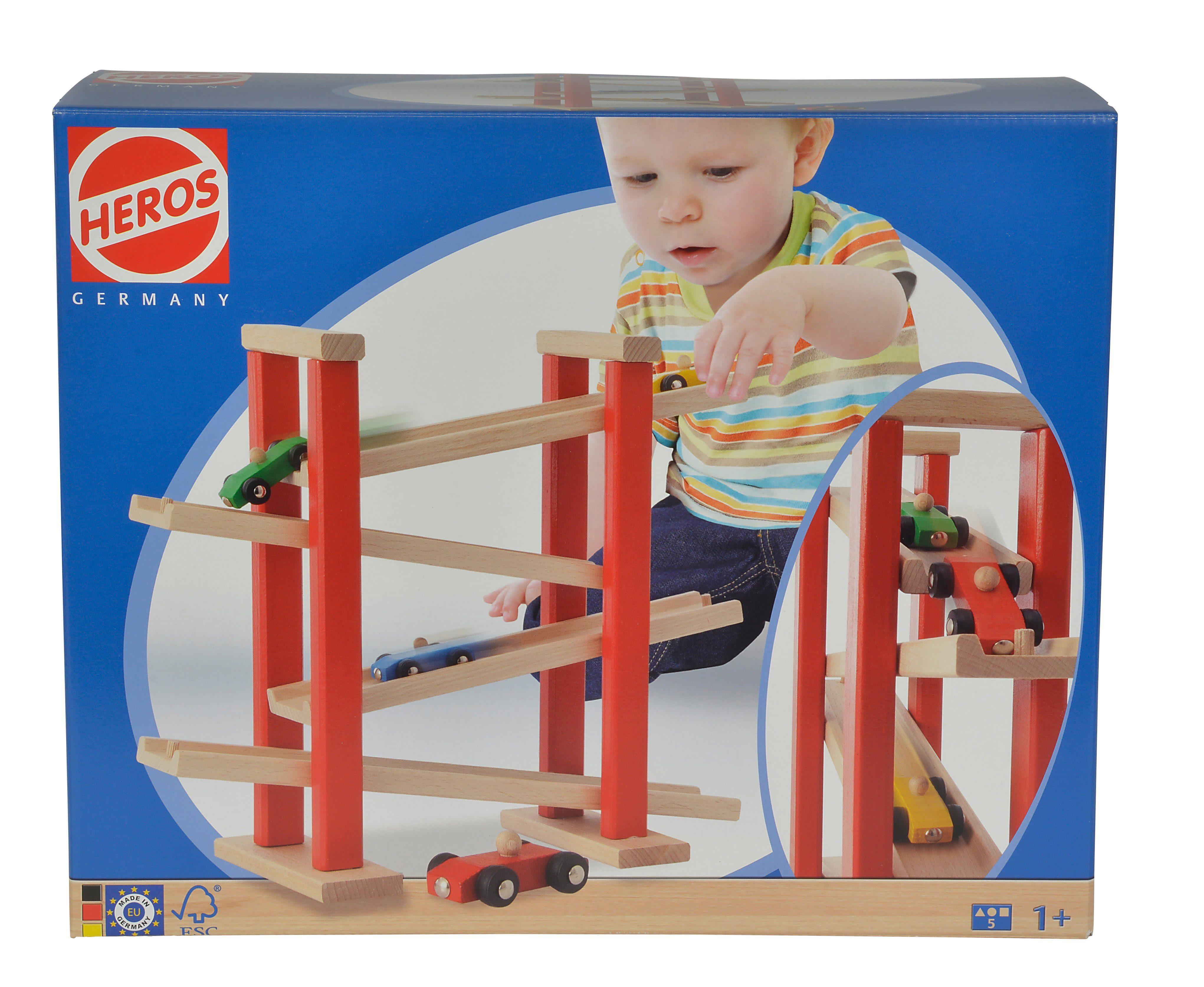 Heros Autorennbahn aus Holz