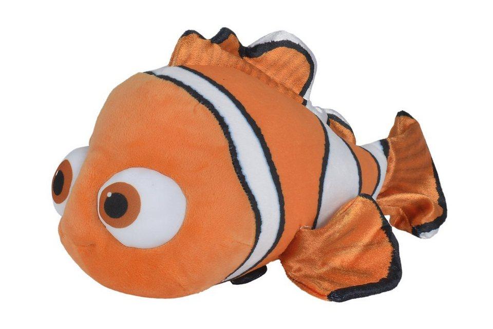 Simba Plüschtier Clownfisch, »Disney Finding Dory, Nemo ca. 50 cm« in orange