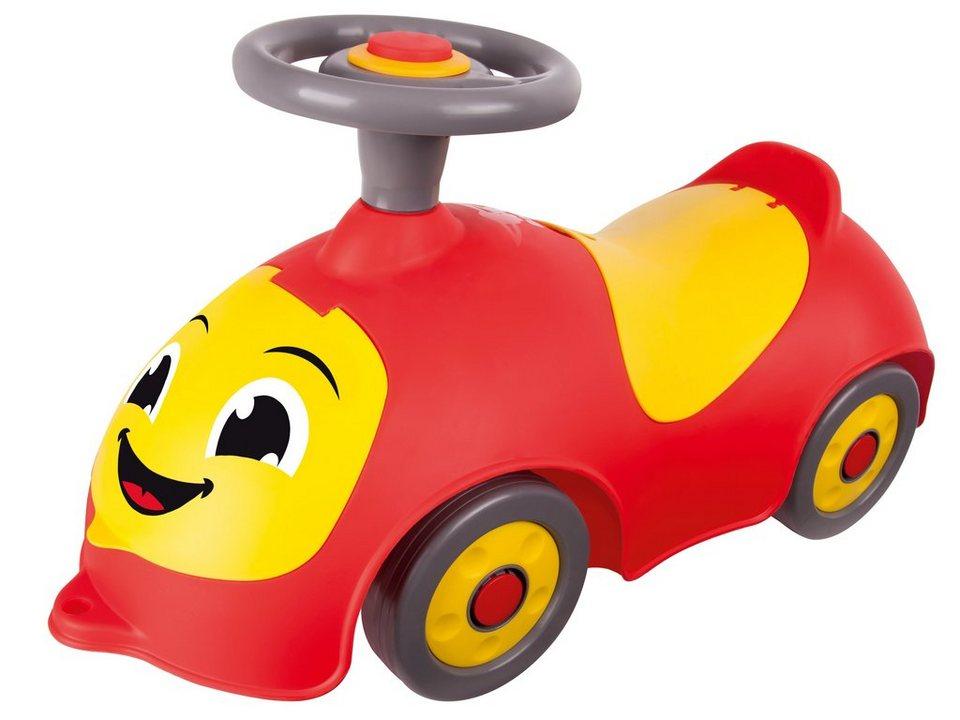 BIG Rutschfahrzeug, »BIG Happy« in rot-gelb