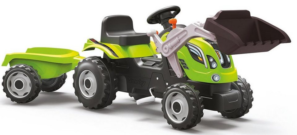 Smoby Trettraktor mit Schaufel, »Farmer XL Loader« in grün