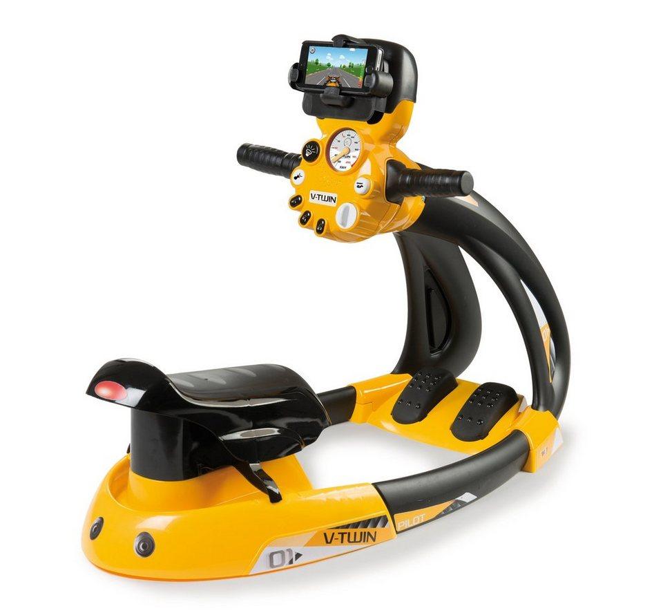 Smoby Motorrad Fahrsimulator, »VTwin Biker + Smartphone Halter«