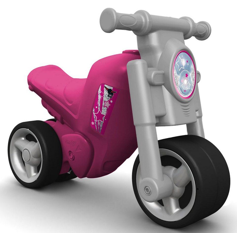 BIG Laufrad, »BIG Girlie Bike« in silber-rosa