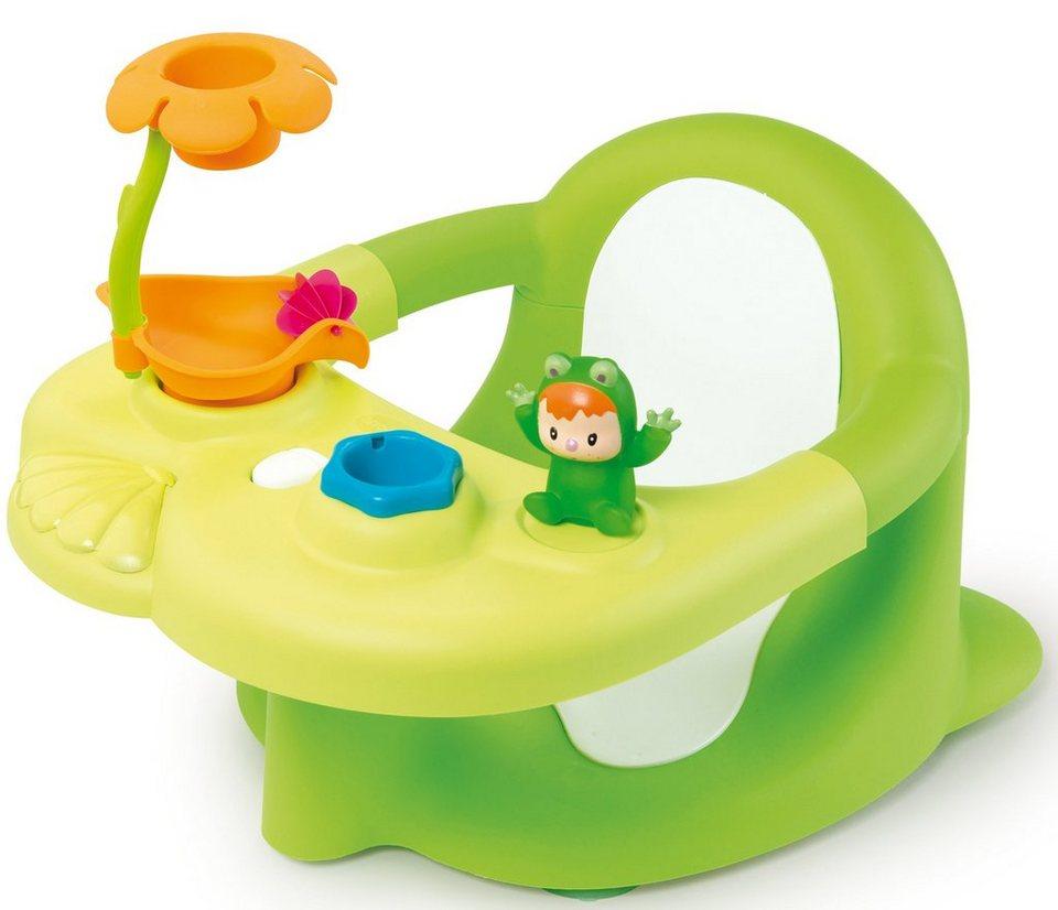 Smoby Baby Badesitz mit Activity-Tablett, »Cotoons grün«