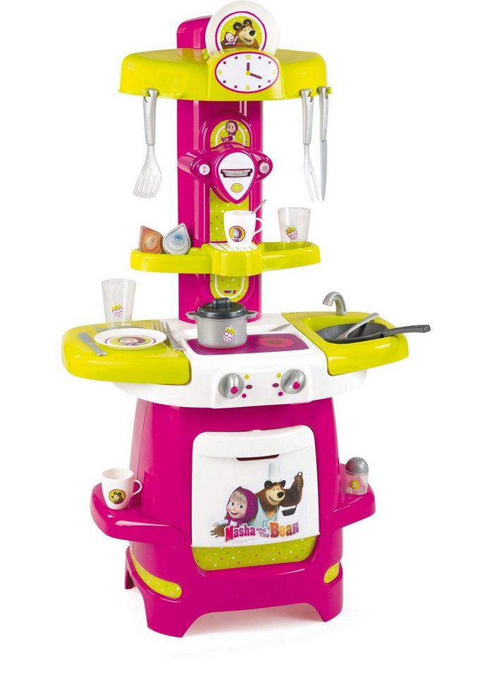 Smoby Spielküche, »Mascha Cooky, Masha und der Bär«
