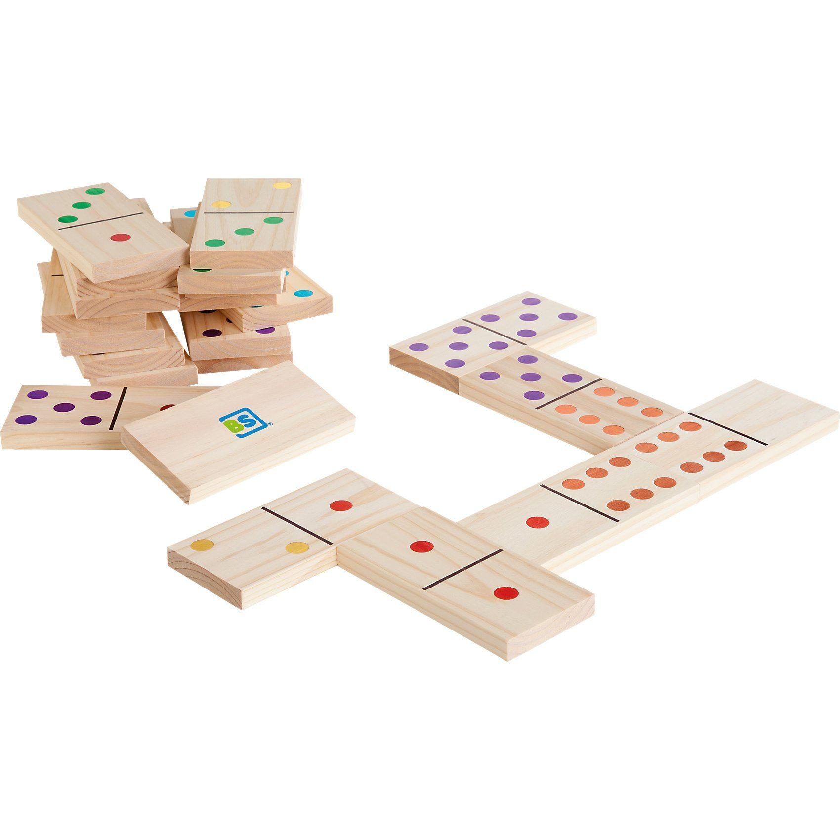 Buiten Speel (BS) Dominospiel, farbig
