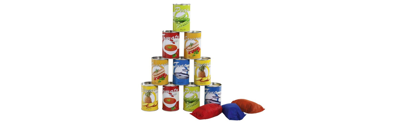 Buiten Speel (BS) Tin Throwing (food theme)