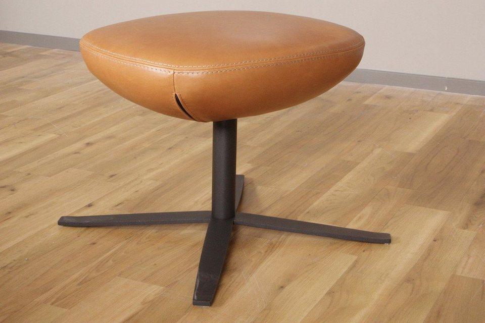 kasper wohndesign hocker leder africa cognac braun kawola. Black Bedroom Furniture Sets. Home Design Ideas