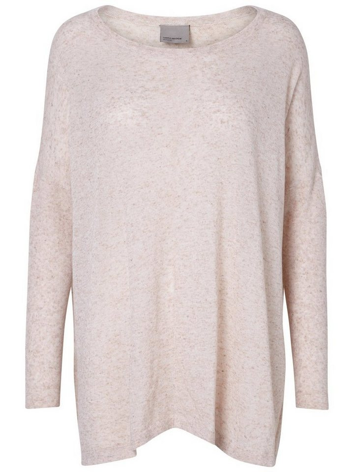 Vero Moda Gestrickter Pullover in Cream Tan