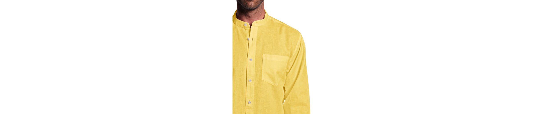 Eddie Bauer Stehkragenhemd mit Leinen Freies Verschiffen Vermarktbare Wahl Neue Art Und Weise Stil Echt Günstiger Preis IO8Fa1