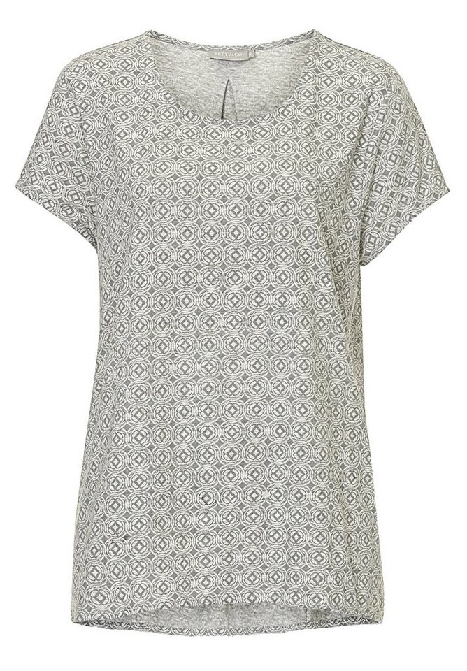 Betty&Co Shirt in Silver/Grey - Bunt