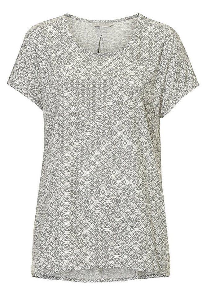 Betty&Co Shirt in Silver/Grey - Grau