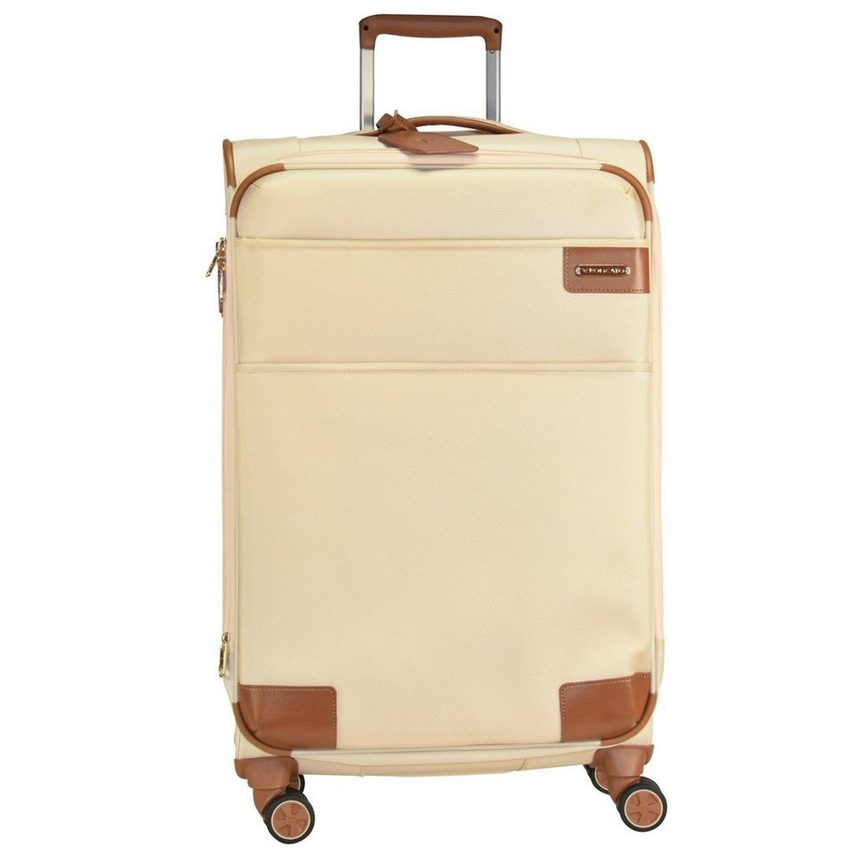 Roncato UNO SOFT Deluxe 4-Rollen Trolley 82 cm in champagne