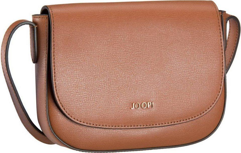 Joop Demi Pure Flap Bag Small in Cognac